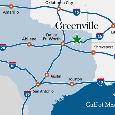 State Level Map | Greenville Economic Development